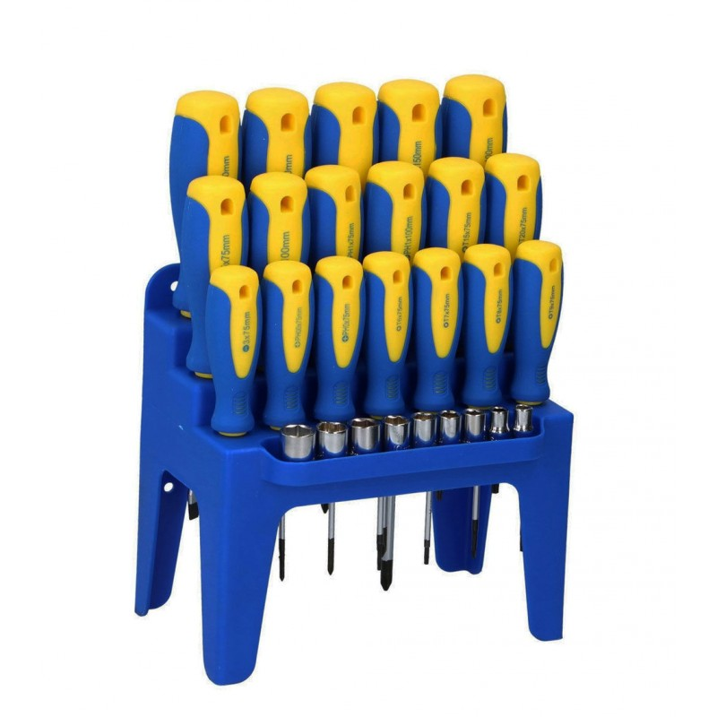 Set of screwdrivers (27 pcs)