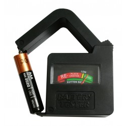 Batterietester AA/AAA/C/D/9V/1,5V