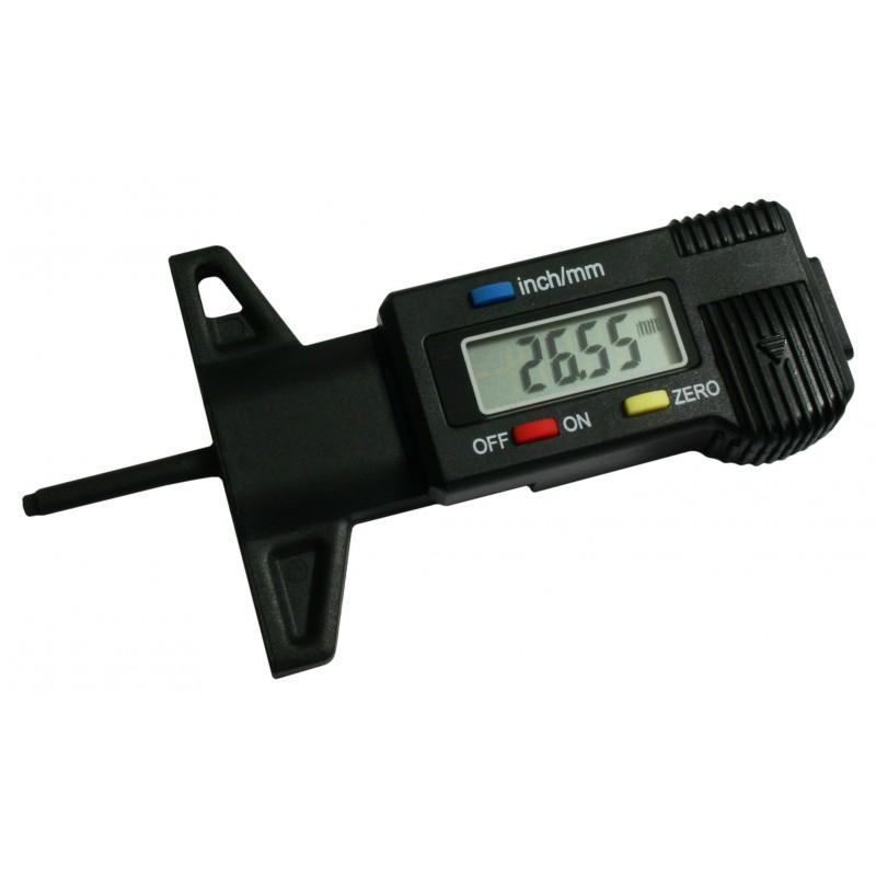 Digitale (profiel)diepte schuifmaat 25.4 mm