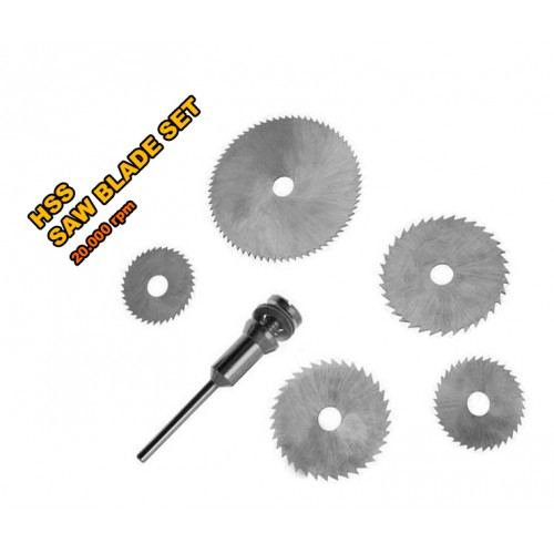 5 pcs mini HSS saw blades for multi tools