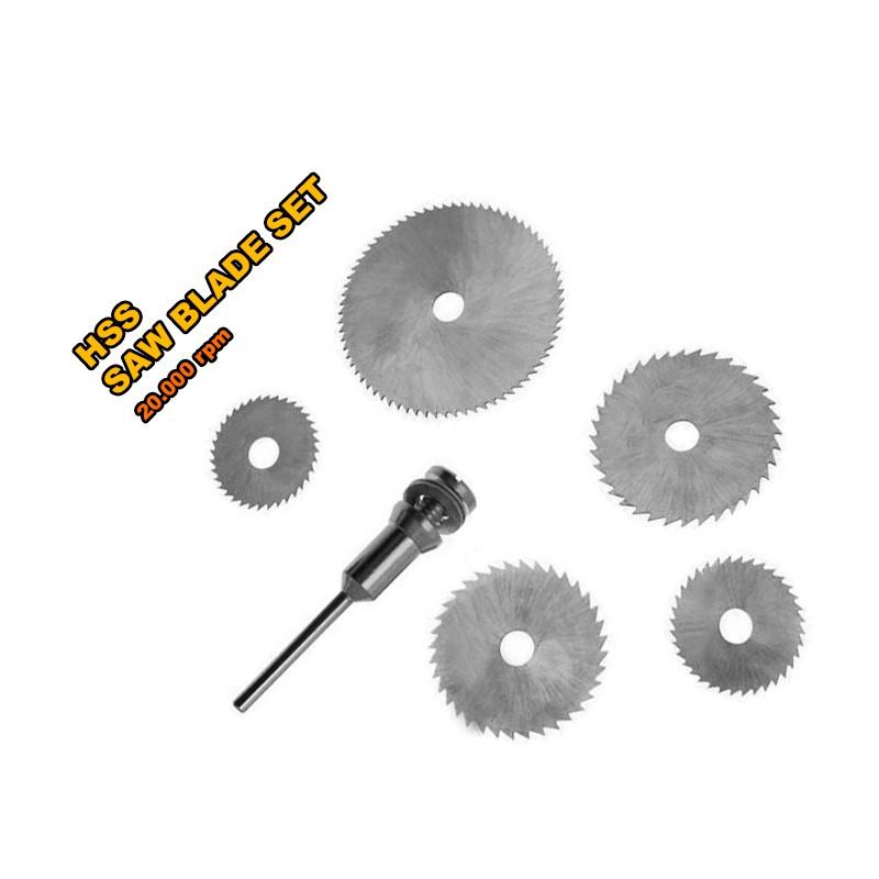 5 pcs mini HSS saw blades for multi tools
