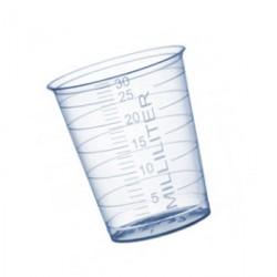 Maatbeker (medicijnbeker) 30 ml met schaalverdeling