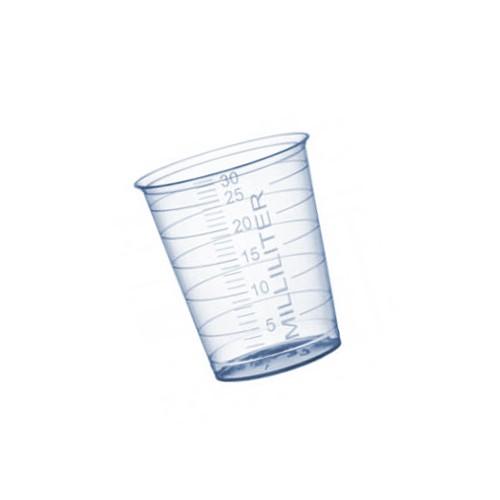 Mini maatbeker (medicijnbeker) 30 ml met schaalverdeling