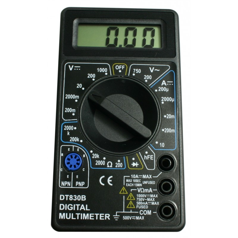 LCD digitale multimeter