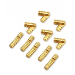 8 small (hidden) brass hinges 5*25 mm