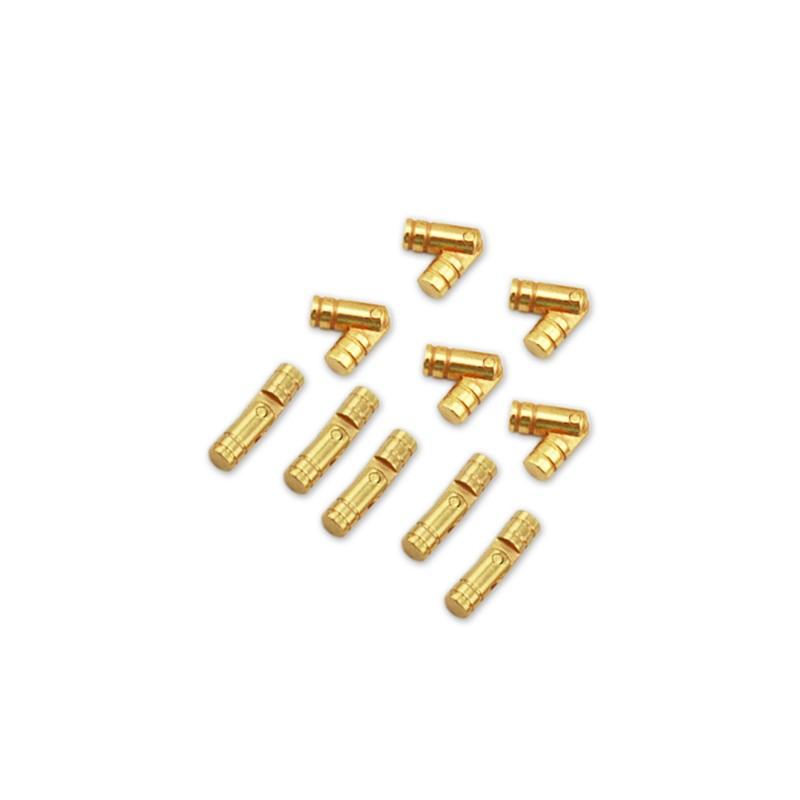8 kleine (versteckte) Messingscharniere 5*25 mm