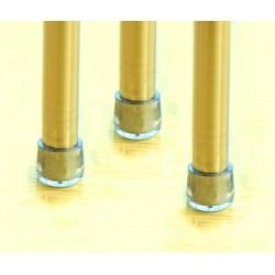 8 x Stuhlbeinkappen, Tischbeinkappen, 12.7mm