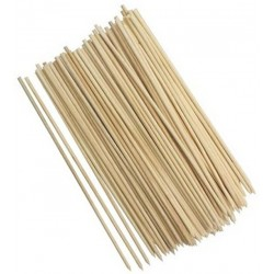 100 houten satestokjes, sateprikkers, 25cm