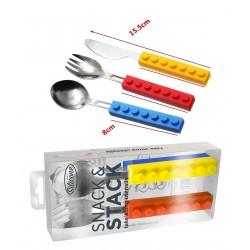 Bestekset speelgoed voor kinderen (vork, mes, lepel)