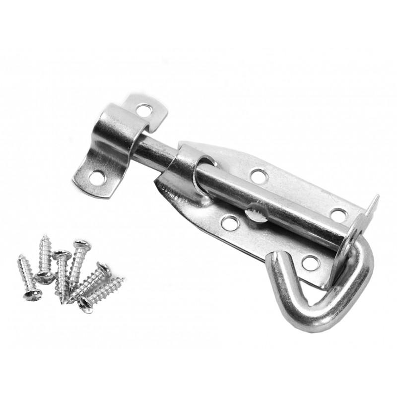 Door slider, door hook, door latch, door lock (10 cm)