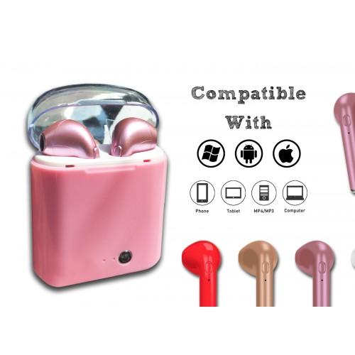 Draadloze headset voor dames: roze (PC/IOS/Android)