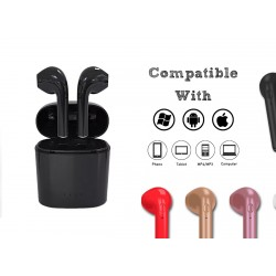 Wireless headset black (PC/IOS/Android)