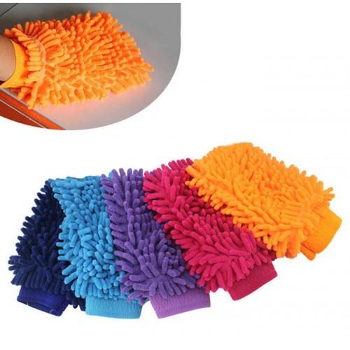 Set van 3 super handschoenen voor wassen van auto