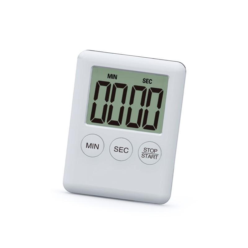 Digital timer, alarm, white