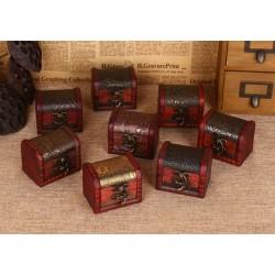10 stuck klassische Holzboxen, Geschenkboxen