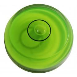 Rond waterpas onderdeel groen, afgerond