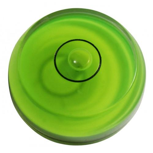 Mini Runde Wasserwaage Teil grün