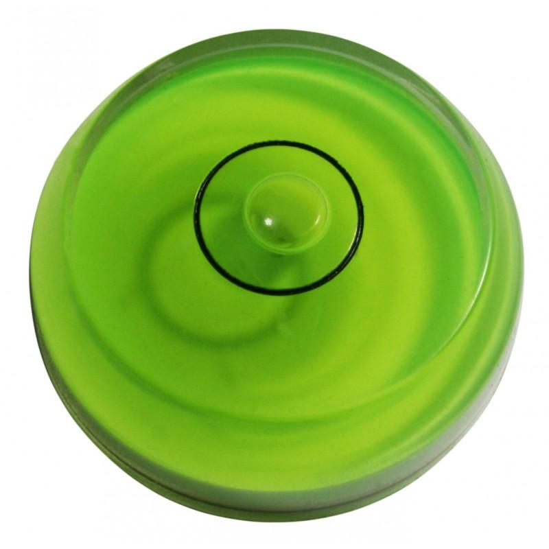 Mini rond waterpas onderdeel groen