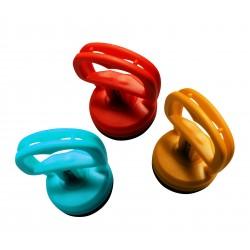 3 stevige plastic zuignappen, 5kg trekkracht