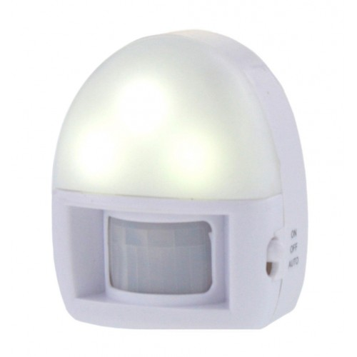 Night lamp with motion sensor (on batteries)