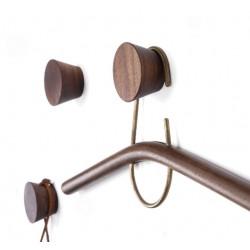 4 Kleiderhaken aus Holz (Garderobe), type 2