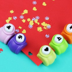 20 pcs kids punch cutters