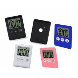 Digital timer, alarm, black