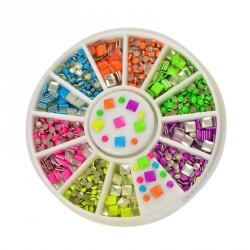 Decoratie steentjes in een doosje (100 stuks)