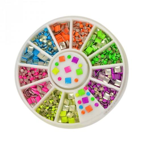 Deco diamond stones in a box (about 100 pcs)