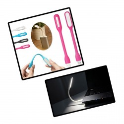 USB buigbaar led lampje, roze