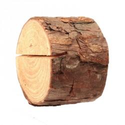 Leuke kaarthouders (18 stuks boomstronkjes)