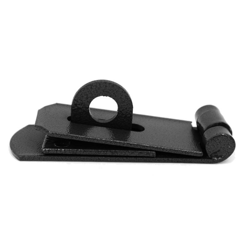 Chest/door latch, lock set, made of steel, 14x5cm