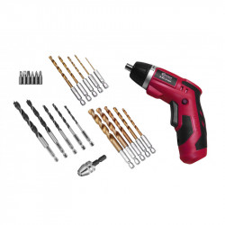 Mini battery powered electric screwdriver and drill