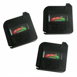 3 x Batterietester AA/AAA/C/D/9V/1.5V