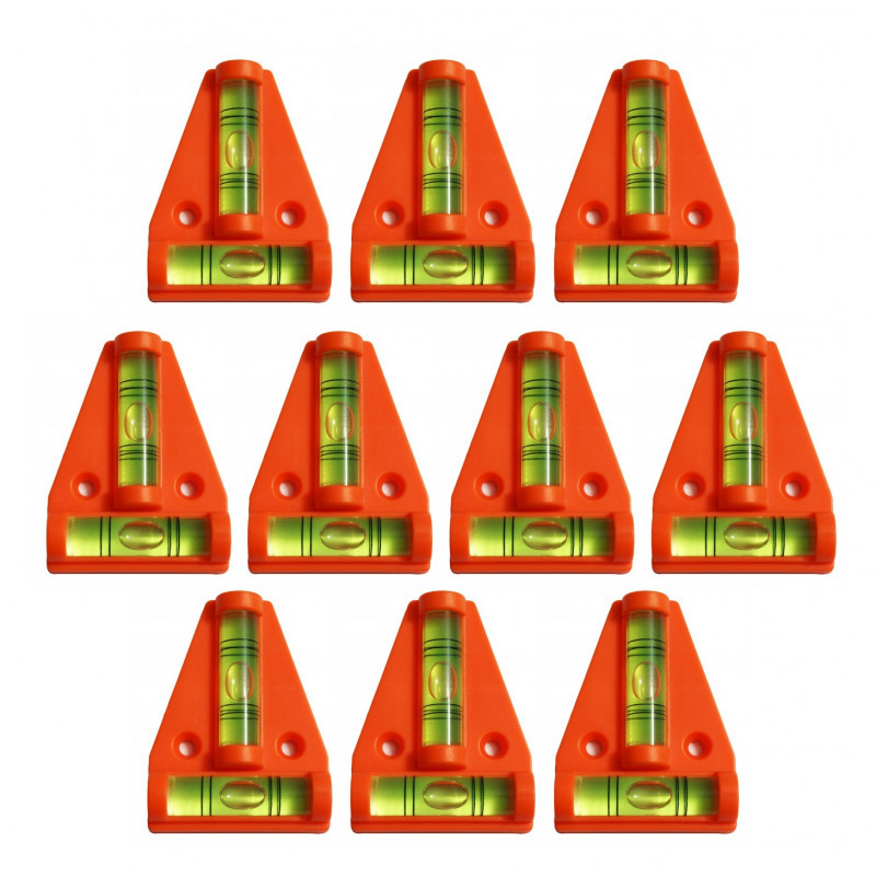 Querebene mit Schraublöchern (orange)