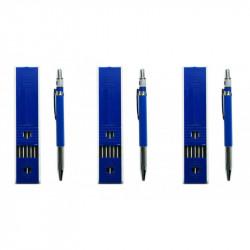 3 x Carpenters pencil (18 refills)