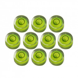 10 x Mini round bubble level tool size 1