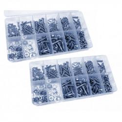 700 teilige Box mit Schrauben, Muttern, Ringen und Schrauben