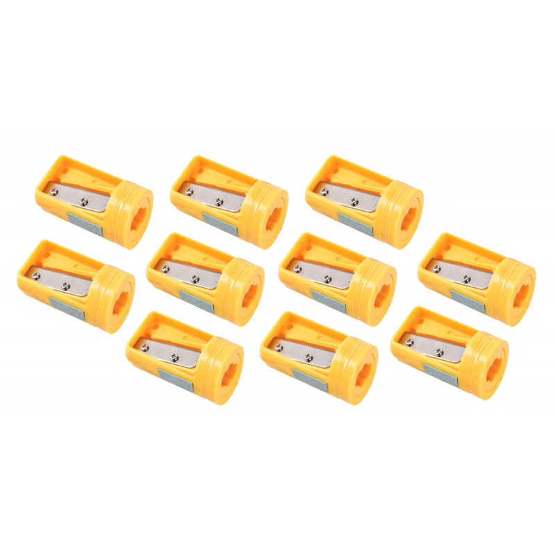 Carpenters pencil sharpener yellow