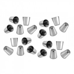 20 pcs stainless steel cups, 30ml