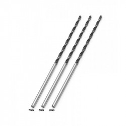3 x Wood drill bit 7mm extreme length (300mm!)