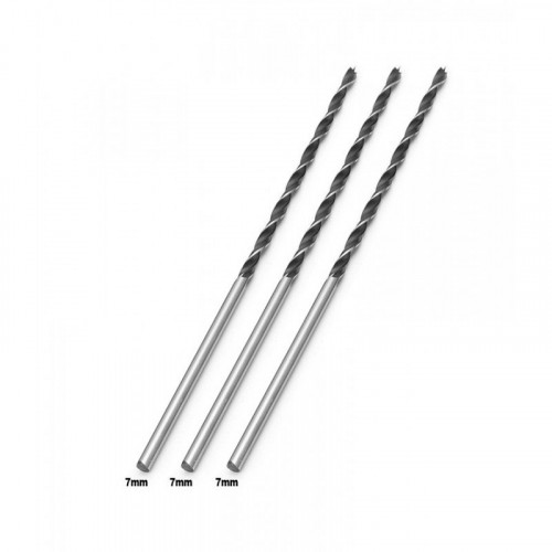 Wood drill bit 7mm extreme length (300mm!)