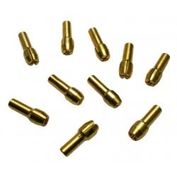 Spannzange 0,5 mm (4,3 mm Schaft)