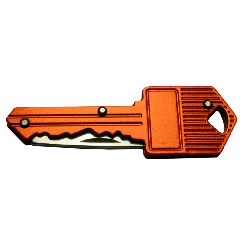 Messer im Schlüssel für Schlüsselwald (orange)