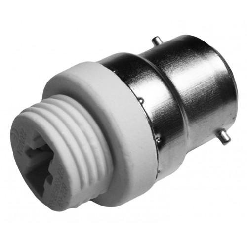 Lighting socket adapter b22 to g9, type GF