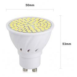 GU10 led light, warm white, 8 watts, 220v