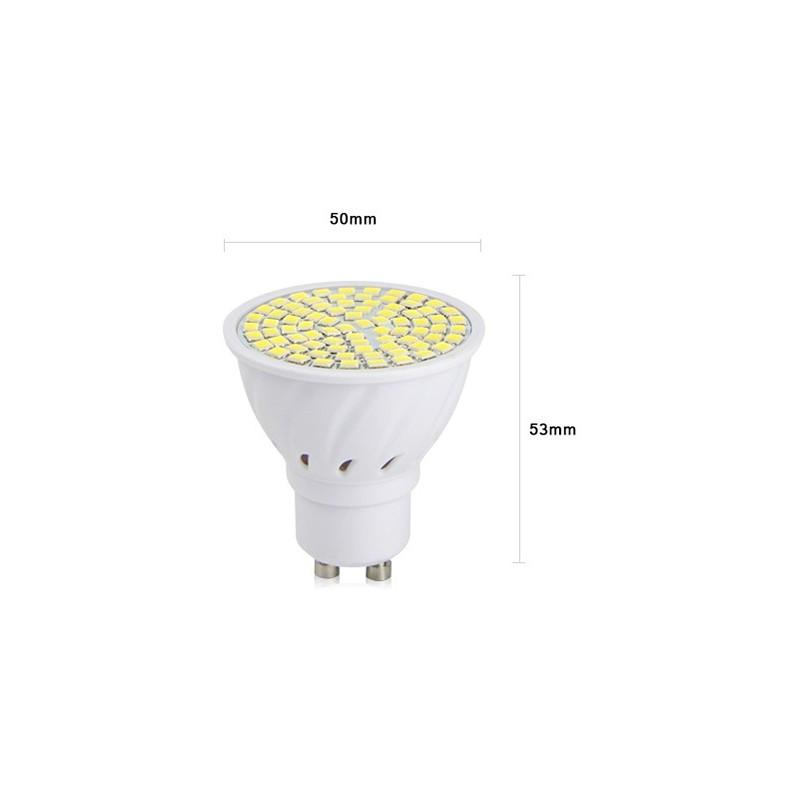 GU10 light, warm white, 8 watts, 220v