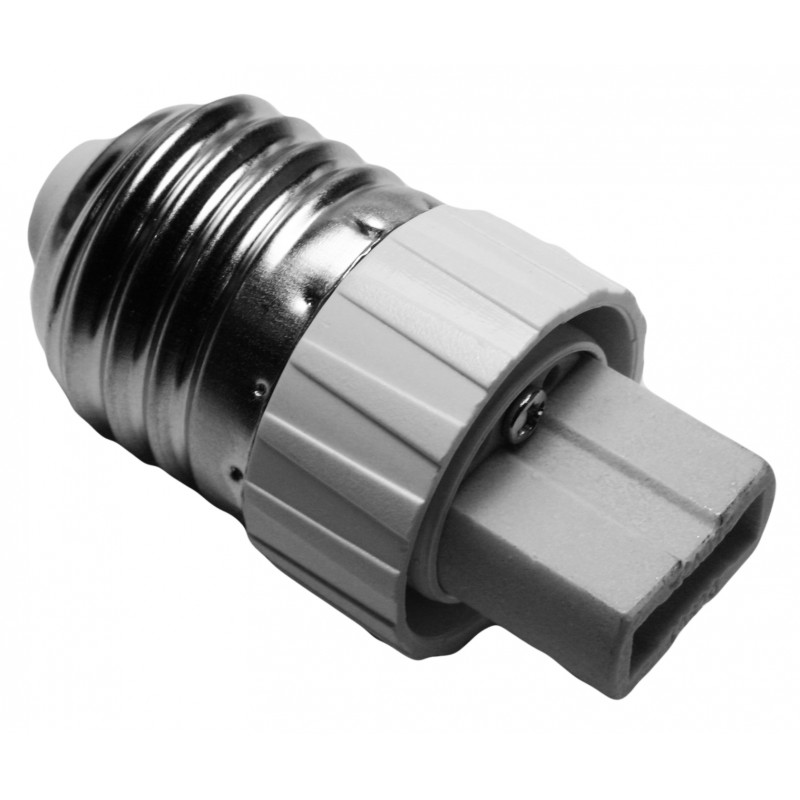 Lighting socket adapter e27 to g9, type CF