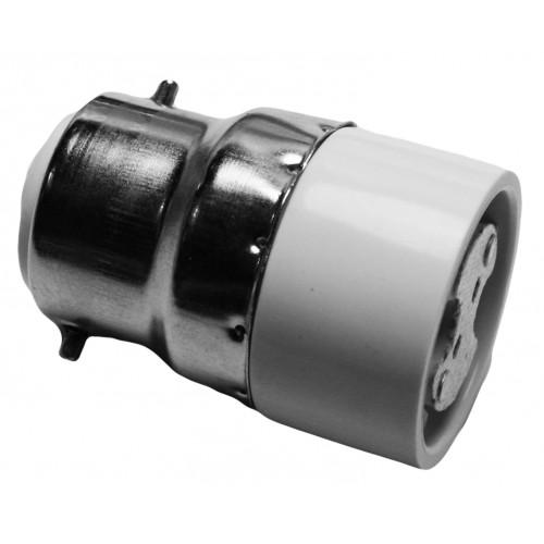 Fitting adapter b22 naar mr16, type GA