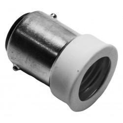 Lighting socket adapter b15 to e14, type JE